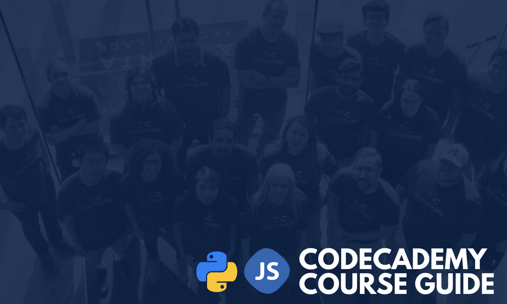 Codecademy Python and JavaScript Guide | DigitalCrafts