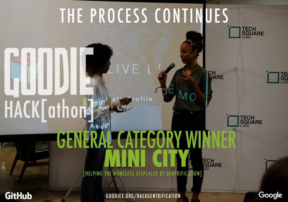 Team Mini City, Goodie Hack Winners