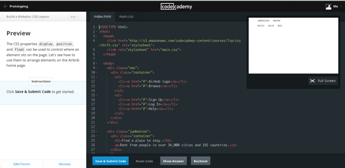 Codecademy is a tool to learn before attending a coding bootcamp